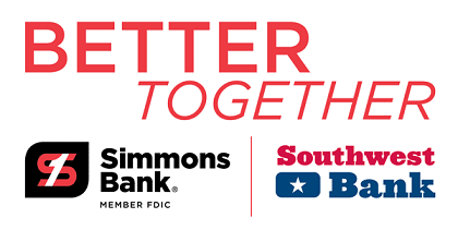 Better Together - Simmons Bank Member FDIC | Southwest Bank